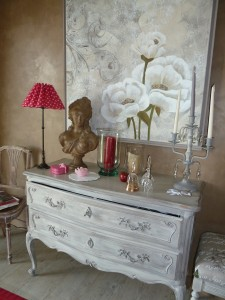 une commode shabby