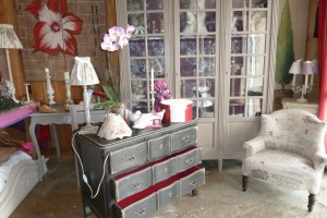 Une commode patine shabby
